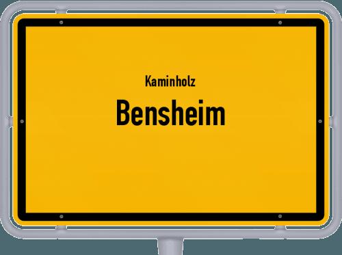 Kaminholz & Brennholz-Angebote in Bensheim, Großes Bild