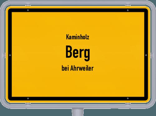 Kaminholz & Brennholz-Angebote in Berg (bei Ahrweiler), Großes Bild