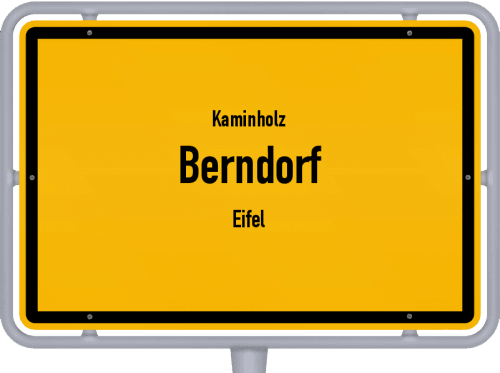 Kaminholz & Brennholz-Angebote in Berndorf (Eifel), Großes Bild