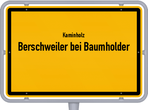 Kaminholz & Brennholz-Angebote in Berschweiler bei Baumholder, Großes Bild