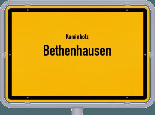 Kaminholz & Brennholz-Angebote in Bethenhausen, Großes Bild