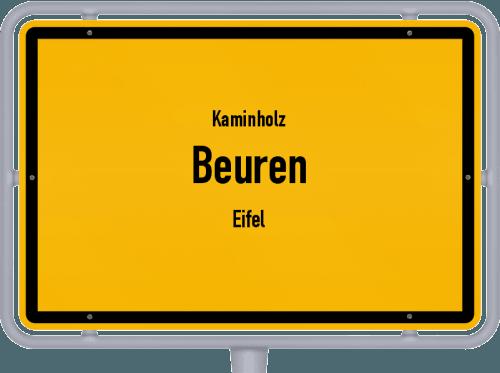 Kaminholz & Brennholz-Angebote in Beuren (Eifel), Großes Bild