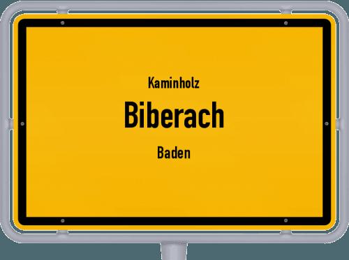 Kaminholz & Brennholz-Angebote in Biberach (Baden), Großes Bild