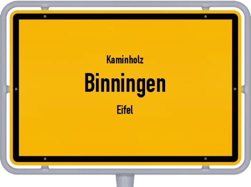 Kaminholz & Brennholz-Angebote in Binningen (Eifel), Großes Bild