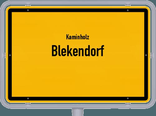 Kaminholz & Brennholz-Angebote in Blekendorf, Großes Bild