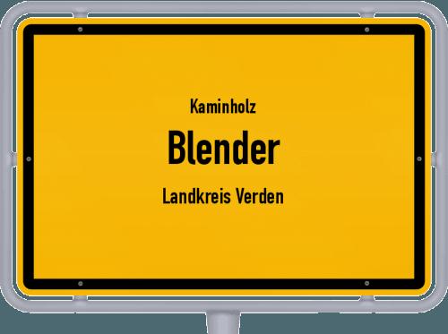 Kaminholz & Brennholz-Angebote in Blender (Landkreis Verden), Großes Bild