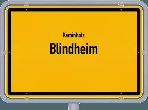 Kaminholz & Brennholz-Angebote in Blindheim, Großes Bild