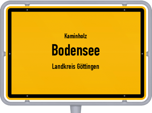 Kaminholz & Brennholz-Angebote in Bodensee (Landkreis Göttingen), Großes Bild