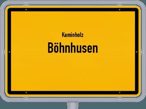 Kaminholz & Brennholz-Angebote in Böhnhusen, Großes Bild