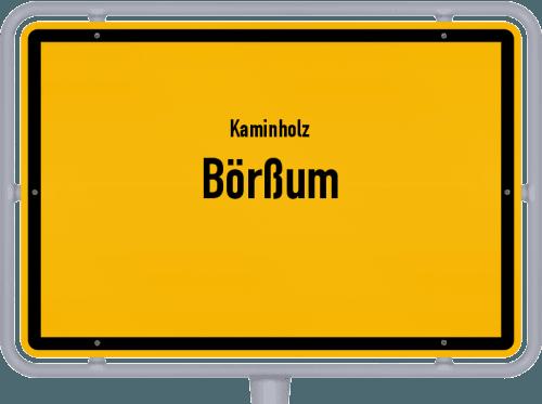 Kaminholz & Brennholz-Angebote in Börßum, Großes Bild