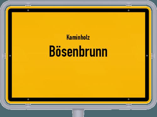 Kaminholz & Brennholz-Angebote in Bösenbrunn, Großes Bild