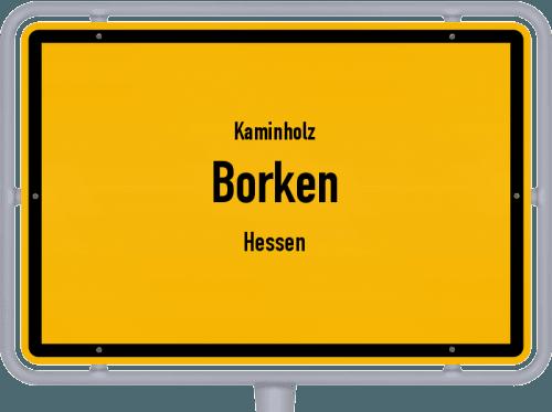 Kaminholz & Brennholz-Angebote in Borken (Hessen), Großes Bild