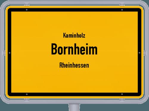 Kaminholz & Brennholz-Angebote in Bornheim (Rheinhessen), Großes Bild