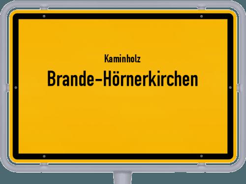 Kaminholz & Brennholz-Angebote in Brande-Hörnerkirchen, Großes Bild