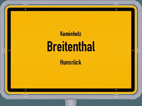 Kaminholz & Brennholz-Angebote in Breitenthal (Hunsrück), Großes Bild