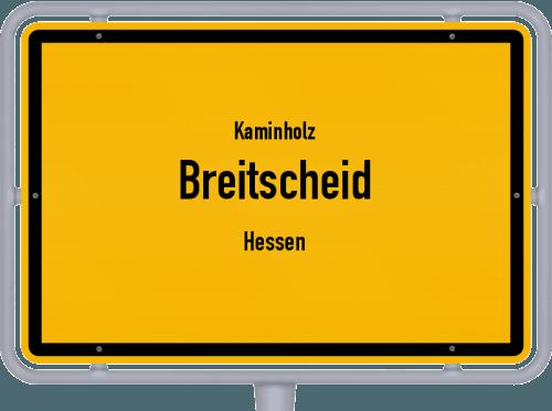 Kaminholz & Brennholz-Angebote in Breitscheid (Hessen), Großes Bild