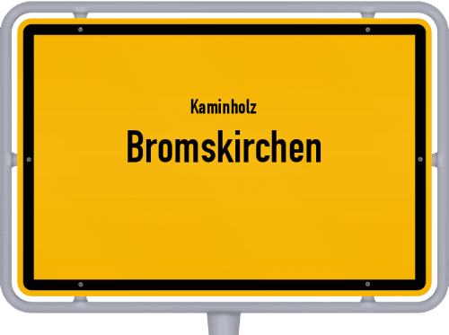 Kaminholz & Brennholz-Angebote in Bromskirchen, Großes Bild