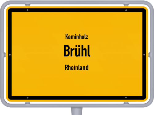 Kaminholz & Brennholz-Angebote in Brühl (Rheinland), Großes Bild