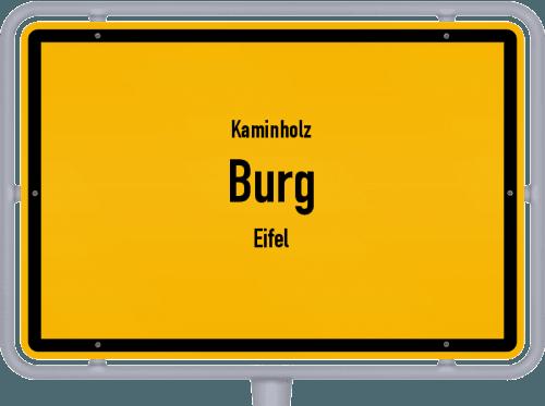 Kaminholz & Brennholz-Angebote in Burg (Eifel), Großes Bild