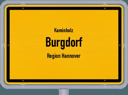Kaminholz & Brennholz-Angebote in Burgdorf (Region Hannover), Großes Bild