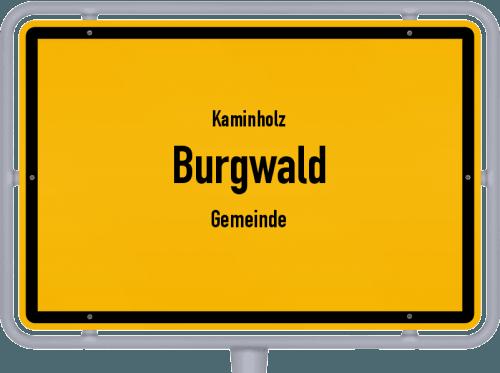 Kaminholz & Brennholz-Angebote in Burgwald (Gemeinde), Großes Bild