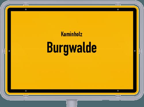 Kaminholz & Brennholz-Angebote in Burgwalde, Großes Bild