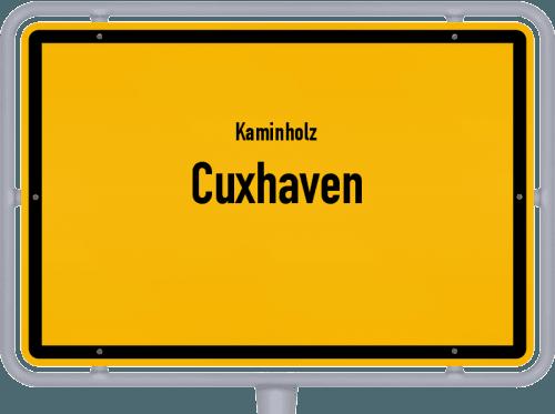 Kaminholz & Brennholz-Angebote in Cuxhaven, Großes Bild