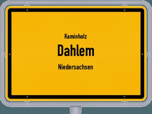 Kaminholz & Brennholz-Angebote in Dahlem (Niedersachsen), Großes Bild