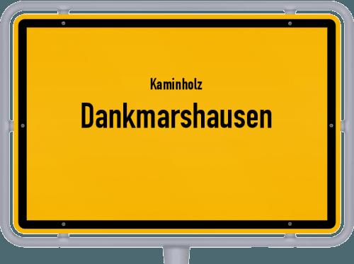 Kaminholz & Brennholz-Angebote in Dankmarshausen, Großes Bild