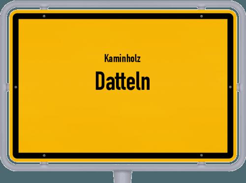 Kaminholz & Brennholz-Angebote in Datteln, Großes Bild