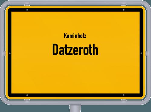 Kaminholz & Brennholz-Angebote in Datzeroth, Großes Bild