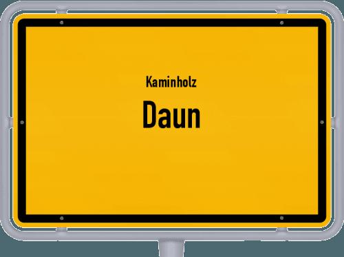 Kaminholz & Brennholz-Angebote in Daun, Großes Bild