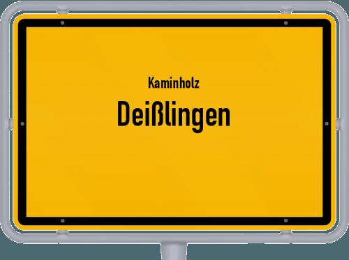 Kaminholz & Brennholz-Angebote in Deißlingen, Großes Bild