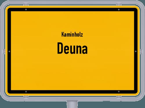 Kaminholz & Brennholz-Angebote in Deuna, Großes Bild