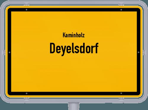 Kaminholz & Brennholz-Angebote in Deyelsdorf, Großes Bild