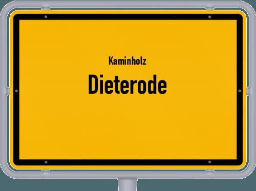 Kaminholz & Brennholz-Angebote in Dieterode, Großes Bild