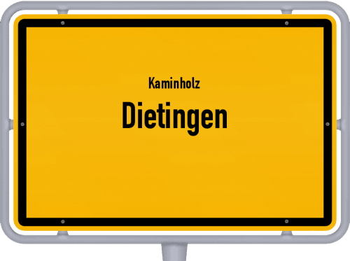 Kaminholz & Brennholz-Angebote in Dietingen, Großes Bild