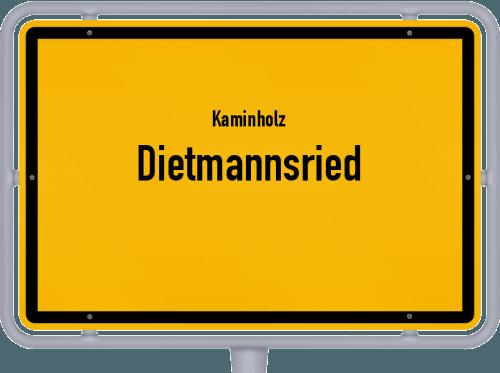 Kaminholz & Brennholz-Angebote in Dietmannsried, Großes Bild