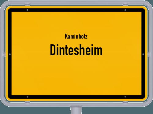 Kaminholz & Brennholz-Angebote in Dintesheim, Großes Bild