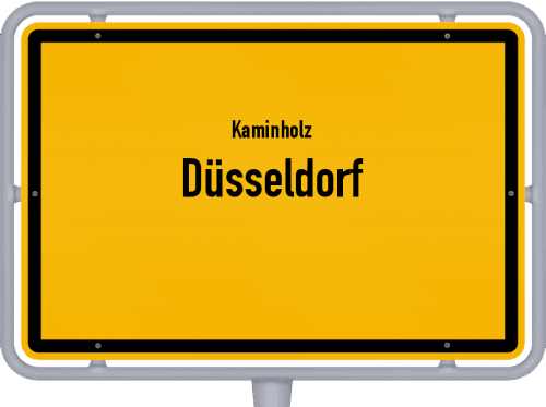 Kaminholz & Brennholz-Angebote in Düsseldorf, Großes Bild
