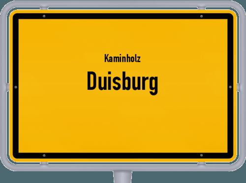 Kaminholz & Brennholz-Angebote in Duisburg, Großes Bild