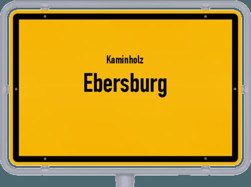 Kaminholz & Brennholz-Angebote in Ebersburg, Großes Bild