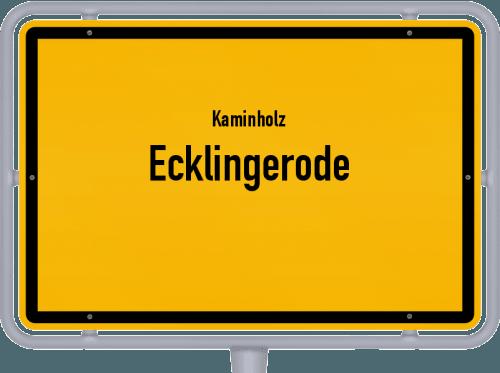 Kaminholz & Brennholz-Angebote in Ecklingerode, Großes Bild