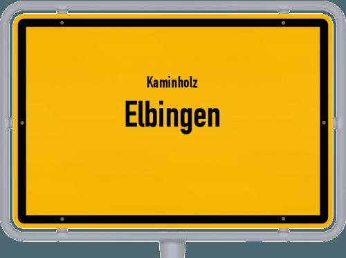 Kaminholz & Brennholz-Angebote in Elbingen, Großes Bild
