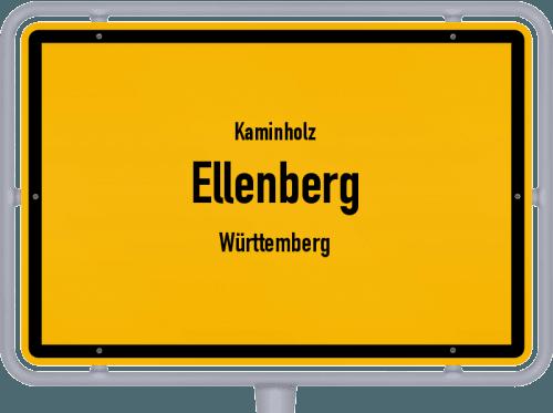 Kaminholz & Brennholz-Angebote in Ellenberg (Württemberg), Großes Bild