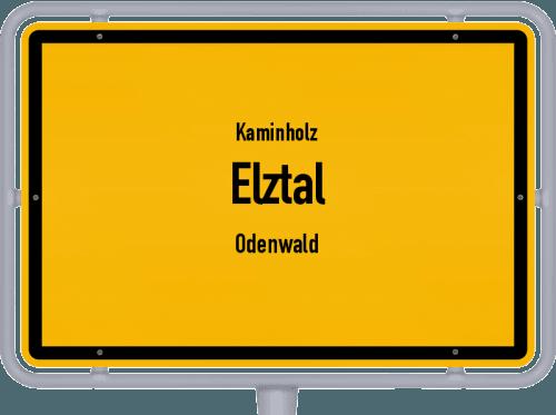 Kaminholz & Brennholz-Angebote in Elztal (Odenwald), Großes Bild