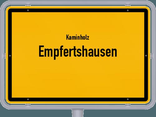 Kaminholz & Brennholz-Angebote in Empfertshausen, Großes Bild
