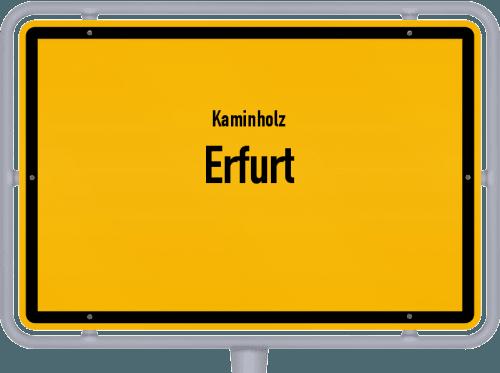 Kaminholz & Brennholz-Angebote in Erfurt, Großes Bild