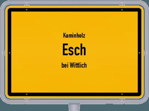 Kaminholz & Brennholz-Angebote in Esch (bei Wittlich), Großes Bild