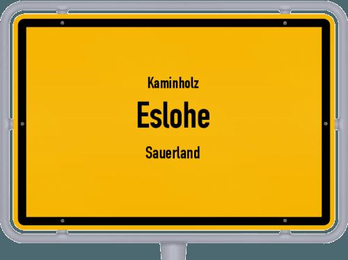Kaminholz & Brennholz-Angebote in Eslohe (Sauerland), Großes Bild